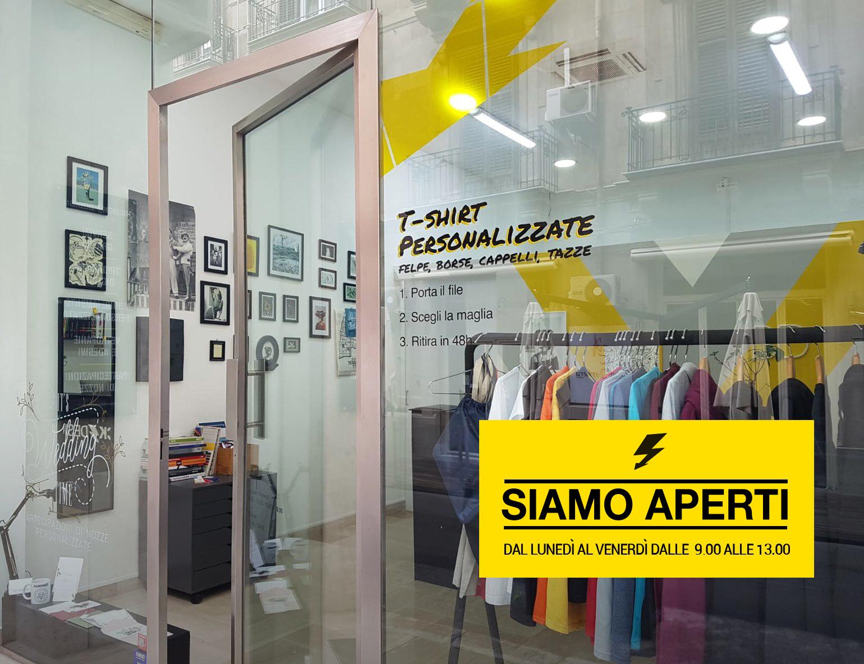 Tipografia aperta a Palermo