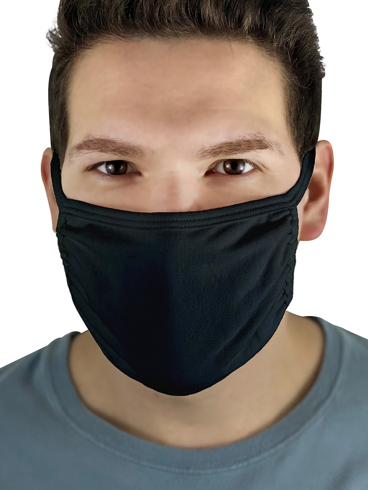 Fruit Mask Black Product Man Front