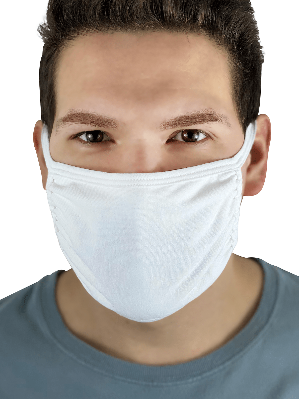 Fruit Mask White Product Man Front 1